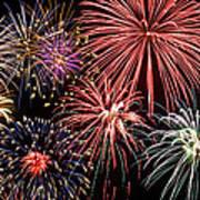 Fireworks Spectacular IIi Print by Ricky Barnard