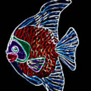 Fish Tales Print by Shane Bechler