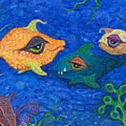 Fishin' For Smiles Print by Tanielle Childers