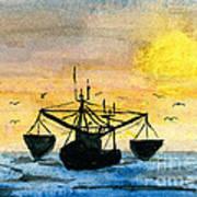 Fishing Tackle Print by R Kyllo