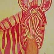 Flame Print by Rhonda Leonard