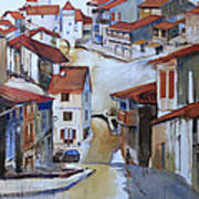 Flood Way Home Print by Shirley  Peters