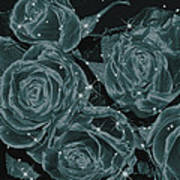 Floral Constellations Print by Wendy J St Christopher