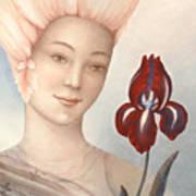 Flower Fairy Print by Judith Grzimek