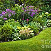 Flower Garden Print by Elena Elisseeva