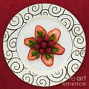 Flowering Fruits Print by Anne Gilbert
