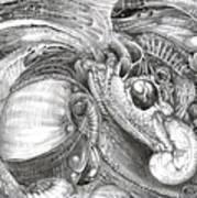 Fomorii Aliens Print by Otto Rapp