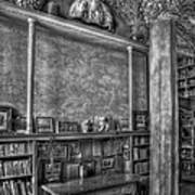 Fonthill Castle Library Print by Susan Candelario