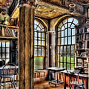 Fonthill Castle Office Print by Susan Candelario