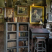 Fonthill Castle Saloon Print by Susan Candelario