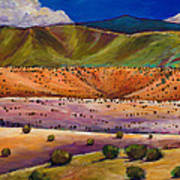 Foothill Approach Print by Johnathan Harris
