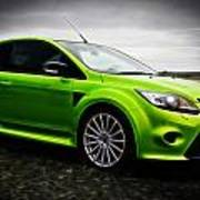 Ford Focus Rs Print by motography aka Phil Clark