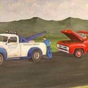 Ford Owner's Nightmare Print by Tom Rose