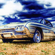 Ford Thunderbird Hdr Print by Phil 'motography' Clark