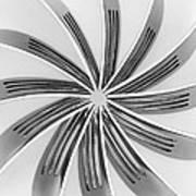 Forks Viii Print by Natalie Kinnear