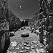 Fortress Of Masada Israel 2 Print by Mark Fuller