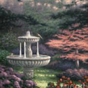 Fountain Print by Chuck Pinson