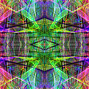 Fourth Dimension Ap130511-22 Print by Wingsdomain Art and Photography