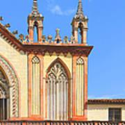 Franciscan Monastery In Nice France Print by Ben and Raisa Gertsberg