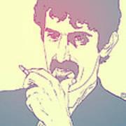 Frank Zappa Print by Giuseppe Cristiano