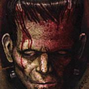 Frankenstein  Print by David Shumate
