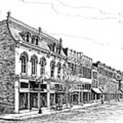 Franklin Main Street Print by Janet King