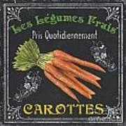 French Vegetables 4 Print by Debbie DeWitt