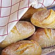 Fresh Bread Print by Carlos Caetano