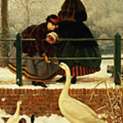 Frozen Out Print by George Dunlop Leslie