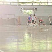 Futsal - Football Court. Print by Rodrigo Cesar