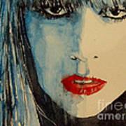 Gaga Print by Paul Lovering