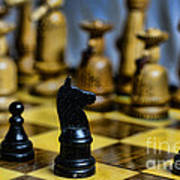 Game Of Chess Print by Paul Ward