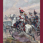 Garde Imperiale 1857 With Fgb Border Print by A Morddel