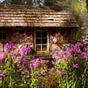 Garden - Belvidere Nj - My Little Cottage Print by Mike Savad