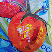 Garden Harvest Collage Detail Print by Shawna Rowe