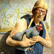 Geek... Print by Will Bullas