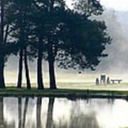 Genegantslet Golf Club Print by Christina Rollo