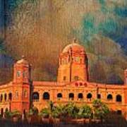 General Post Office Lahore Print by Catf