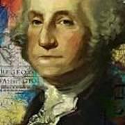 George Washington Print by Corporate Art Task Force