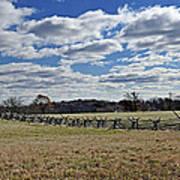 Gettysburg Battlefield - Pennsylvania Print by Brendan Reals