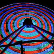 Giant Wheel Print by Mark Miller