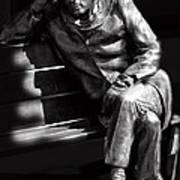 Glenn Gould Print by Andrew Fare
