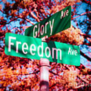 Glory Signs Print by Sonja Quintero