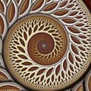 Glynn Spiral No. 2 Print by Mark Eggleston