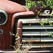 Gmc Grill Work Print by Kathy Clark