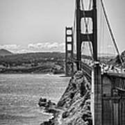 Going To San Francisco Print by Heather Applegate