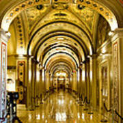 Golden Government Print by Greg Fortier