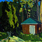 Golf Course Shed Series No.19 Print by Charlie Spear