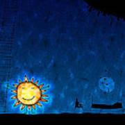 Good Night Sun Print by Gianfranco Weiss