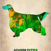 Gordon Setter Poster 2 Print by Naxart Studio